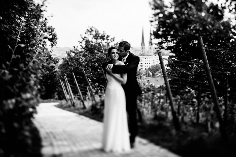 Hochzeitsfotografie an der Sparrenburg in Bielefeld