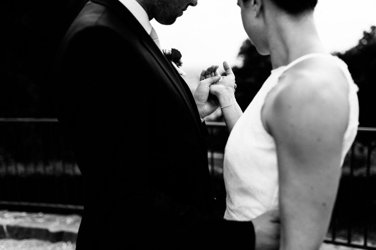 Eine wundervolle Hochzeit in Bielefeld