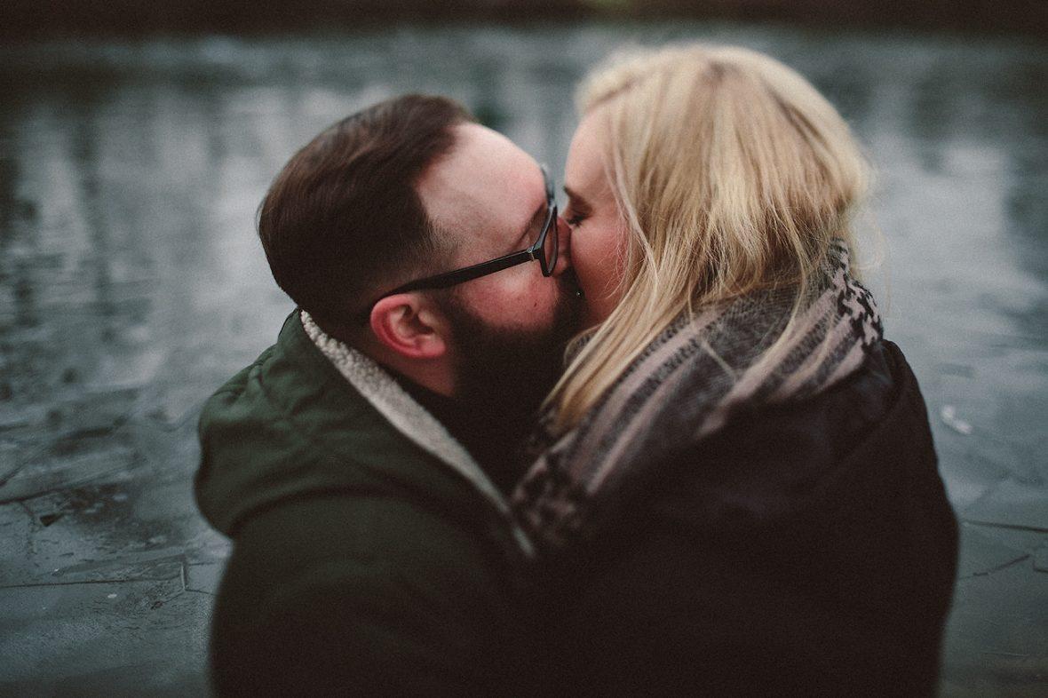 Hochzeitsfotograf Hannover, der Kuss