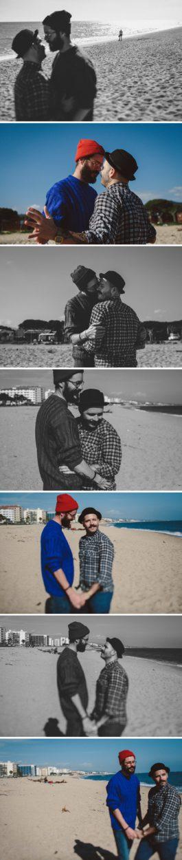 Liebe am Strand von Santa Susanna - Hochzeitsfotograf Bielefeld