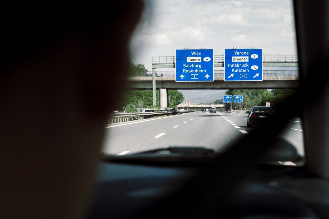 Autobahn Schilder