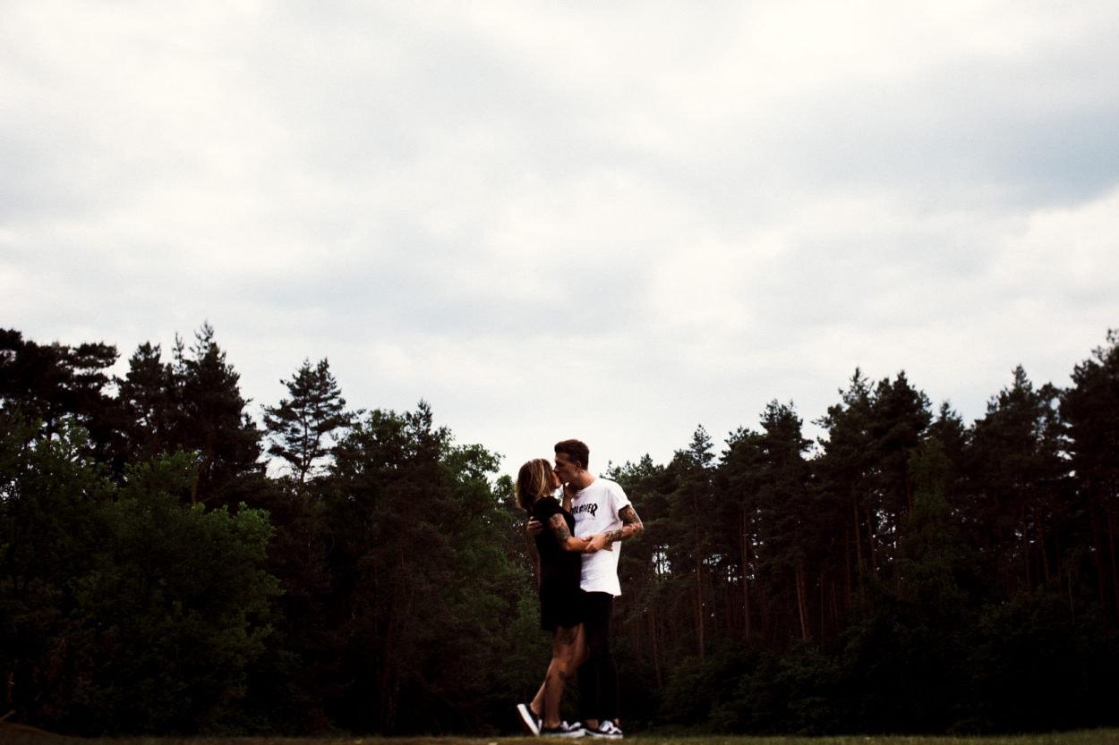 Ein Kuss in den Boombergen
