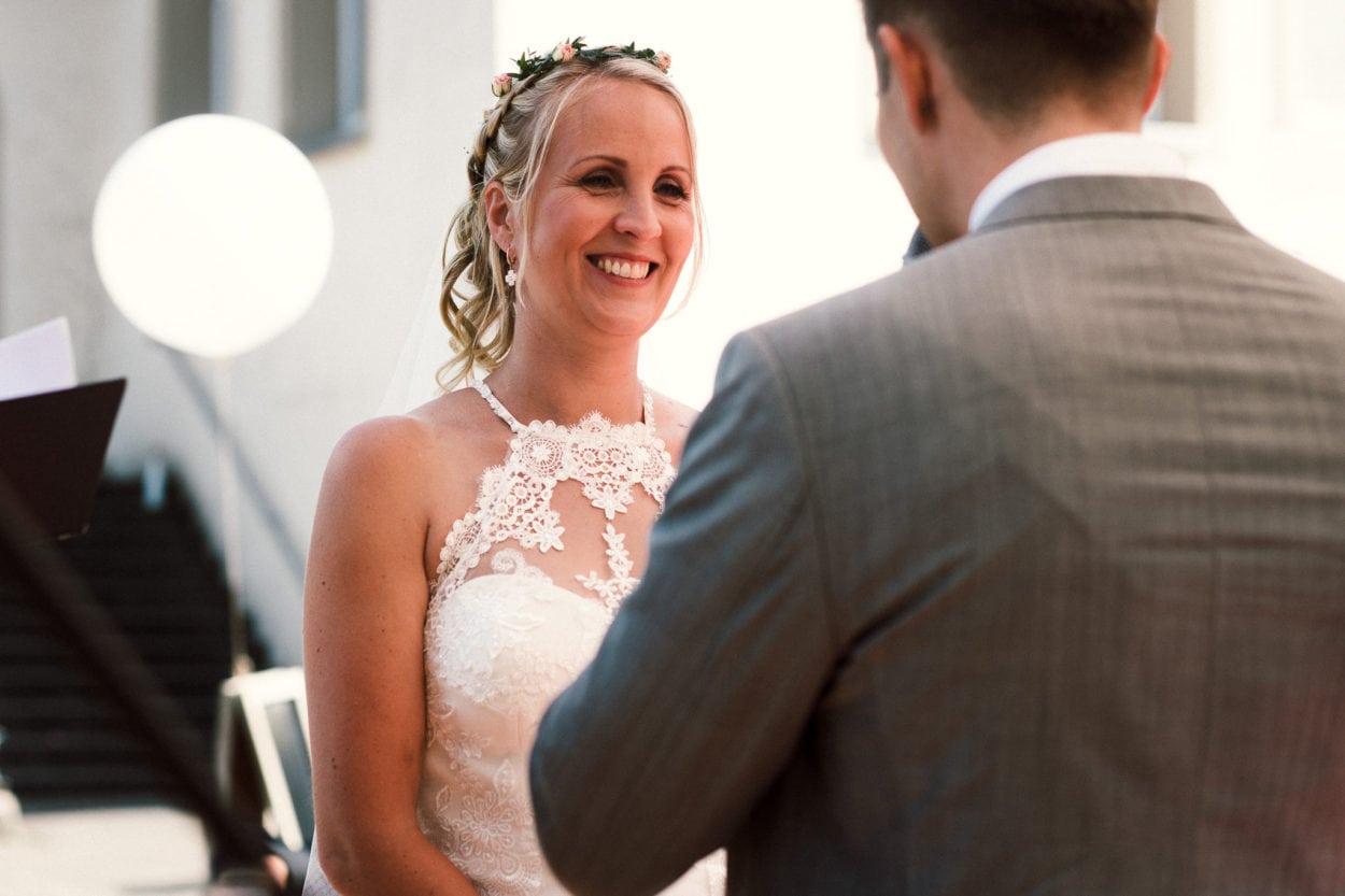 Braut in der Location Schöne Aussicht Bielefeld