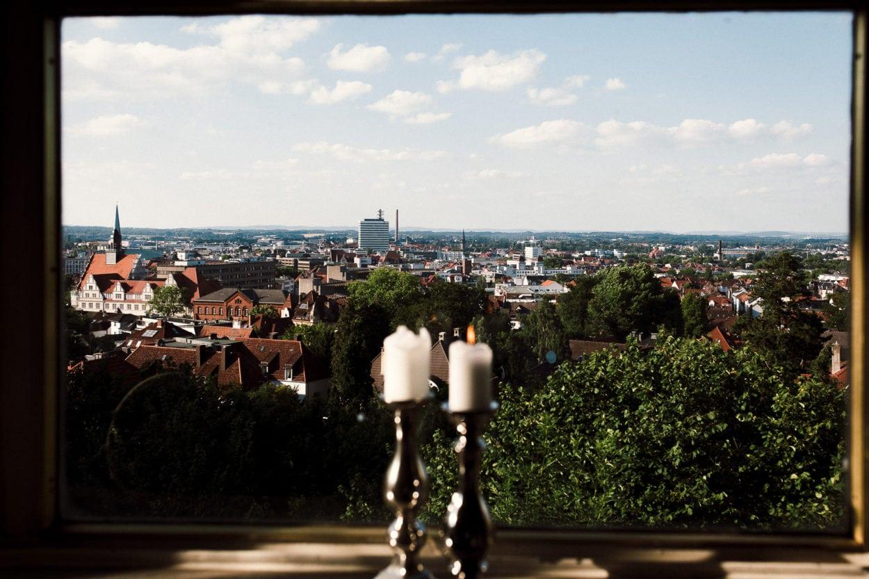 Schöne Aussicht Bielefeld - Hochzeitsfotograf Bielefeld