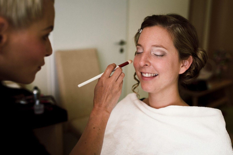 MakeUp von Salon Haartolle