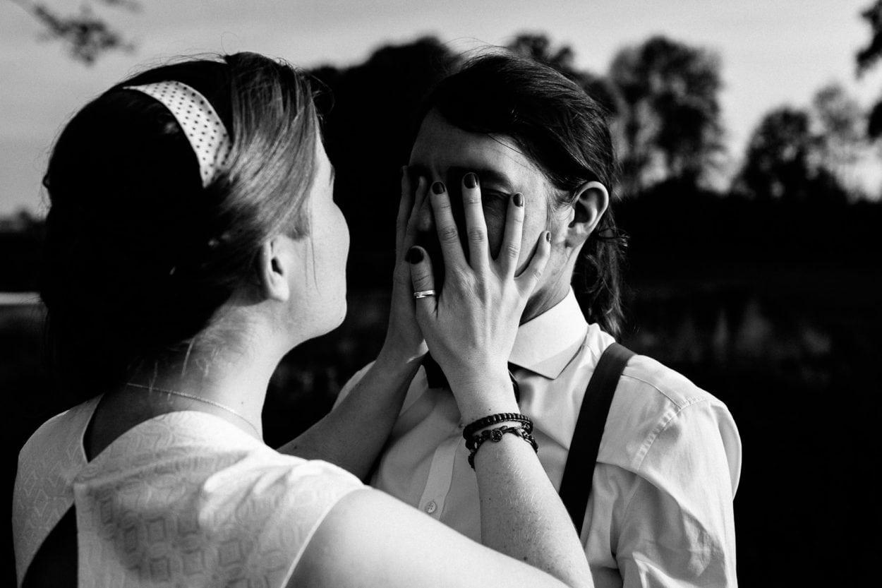 Kreative Hochzeitsfotografie im Heuhotel Hildebrand