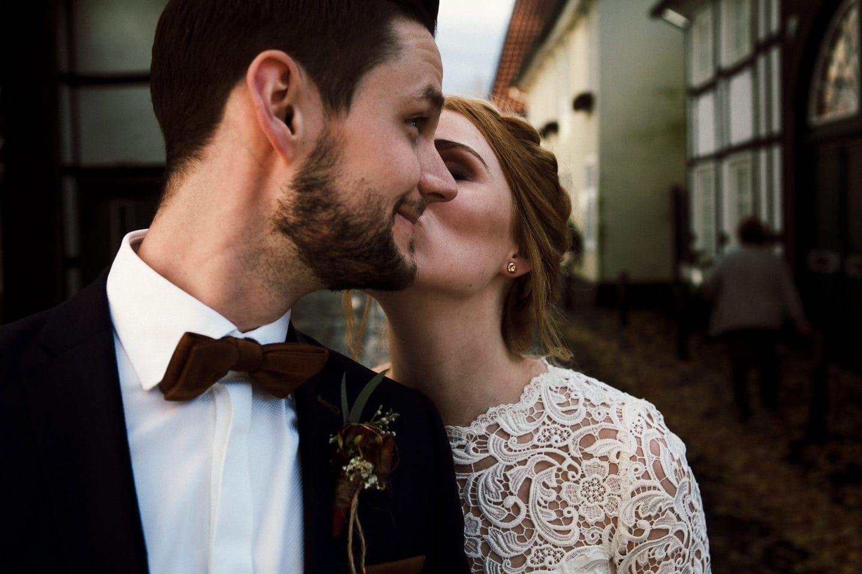 Ein Kuss in den Straßen Rietbergs