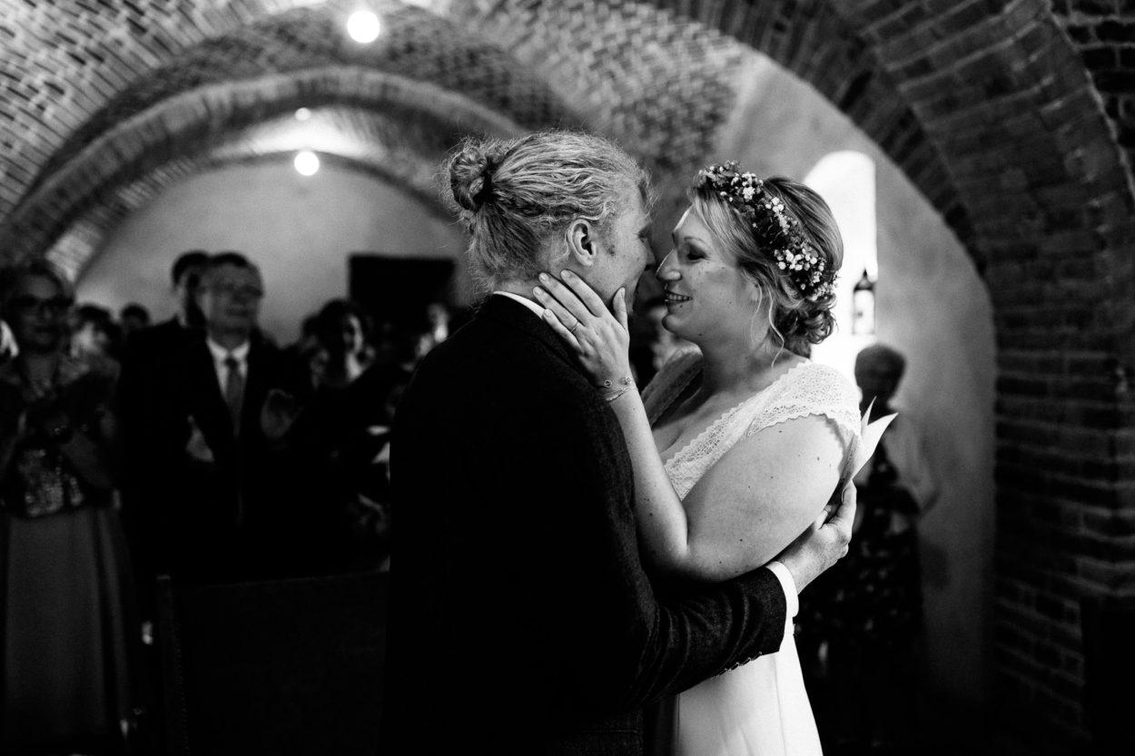 Kurz vor dem Kuss auf Schloss Sythen