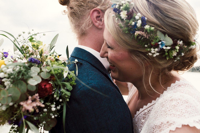lachende Braut Haltern am See