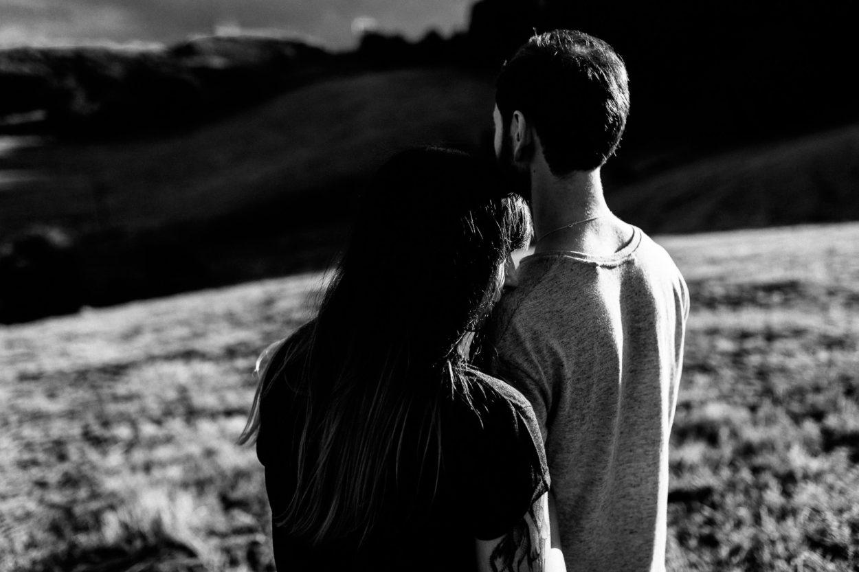 emotionale und intime Paarfotografie