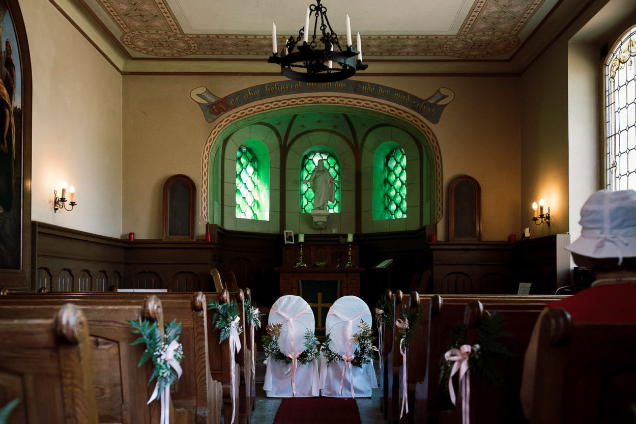 Kapelle Neuharlingersiel von innen