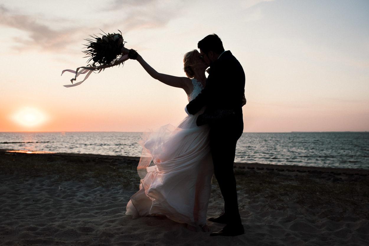 Hochzeit am Strand von Neuharsingersiel