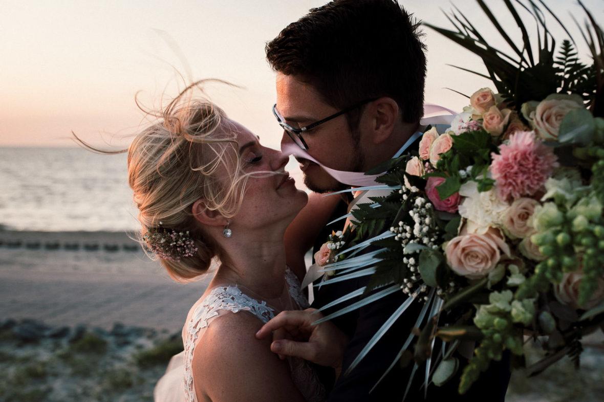 Eine Boho inspirierte Hochzeit an der Nordsee