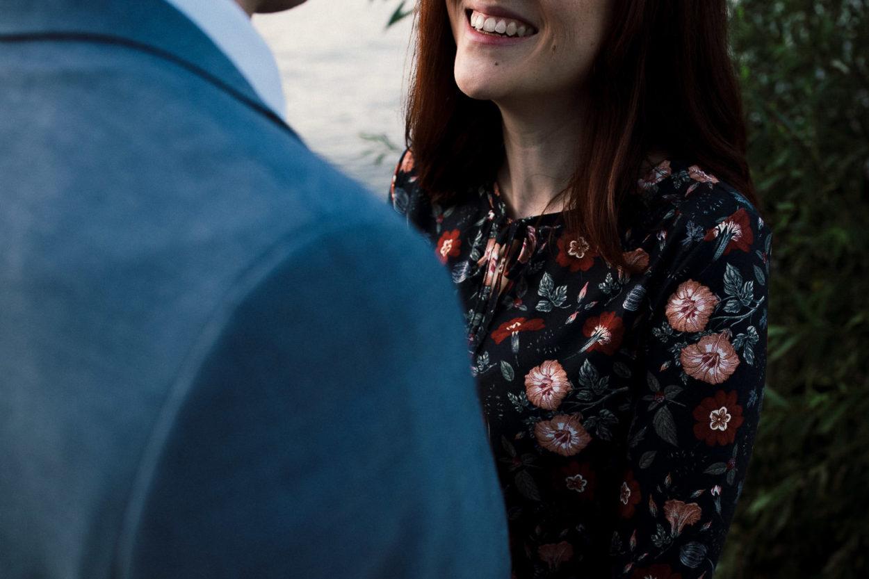 Das Lachen einer Frau